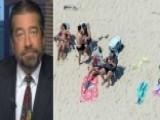 Christie's Press Secretary Defends Governor's Beach Outing