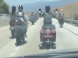 California Bikers' Highway Stunts Frustrate Drivers, CHP