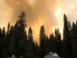 Crews Across The West Battle Outbreak Of Wildfires