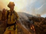 Crews Fight To Contain Massive Wildfires In Calif., Oregon
