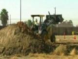Crews Break Ground On 8 Border Wall Prototypes