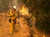 California's Wine Country In Flames As Crews Battle Winds