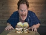 Casey Webb Of 'Man V. Food' Shares Advice For Conquering An Eating Challenge