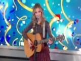 Country Singer Sarah Darling Performs 'Auld Lang Syne'