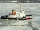 Coast Guard's Ice-breaking Mission Keeps Shipping Lanes Open