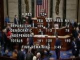 Congress Works Over Night To Pass Budget Bill