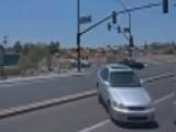 Car Crashes Into Waymo Self-driving Minivan