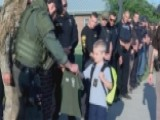 Cops Escort Fallen Police Officer's Son To School