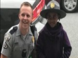Carolina Trooper Gives Young Boy A Lesson In Law Enforcement