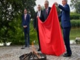 Czech President Calls News Conference To Burn Huge Underwear