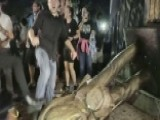 Confederate Campus Statue Toppled By Student Protesters