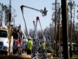 Crews Rebuilding Florida Panhandle's Devastated Power Grid