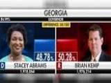 Certification Of Georgia Governor Race Delayed