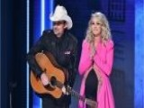 CMA Awards: Carrie Underwood And Brad Paisley Avoid Politics
