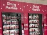 Charities Launch 'giving' Vending Machines