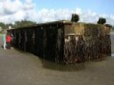 Dock From Japan Tsunami Washes Ashore In Oregon