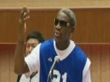 Dennis Rodman Sings 'Happy Birthday' To Kim Jong Un