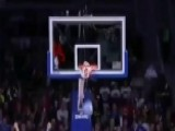 Detroit Pistons Dancer Makes An Incredible Shot