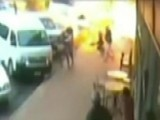 Deadly Cafe Explosion Caught On Tape
