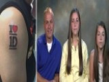 Dad Gets Tattoo For 'One Direction' Concert Contest