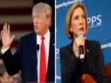 Donald Trump, Carly Fiorina Campaigning In South Carolina