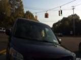 DWI Suspect Caught On Camera Hitting Family's Vehicle Twice