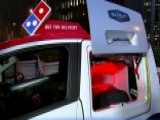 Domino's DXP Vehicles Cook And Deliver Hot Pizza