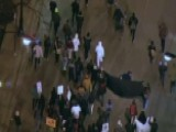Demonstrators Take To The Streets In Chicago