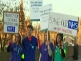 Doctors In London Go On Strike Over New Government Contract
