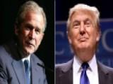 Donald Trump Ramps Up Attacks On George W. Bush