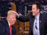 Donald Trump Lets His Hair Down On 'Tonight Show'