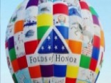 DreamShip Hot Air Balloon Features Art By Military Families