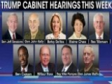 Democrats, Republicans Face Off Over Cabinet Hearings