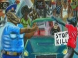 Dems To Rehang Controversial Artwork Showing Cops As Pigs