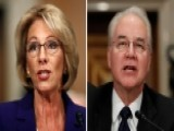 Democratic Senators Grill Trump Picks Price, DeVos
