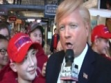 Dooce Is 'on The Loose' With A Trump Impersonator In DC
