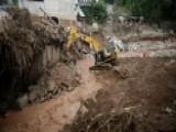 Desperate Search For Mudslide Survivors In Colombia