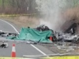 Deadly Plane Crash On Road Near Airport In Connecticut
