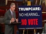 Dems Seize Senate Floor Overnight To Protest Healthcare Bill