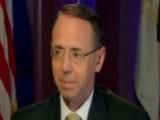 Deputy AG Rosenstein On Civil Forfeiture, Mandatory Minimums