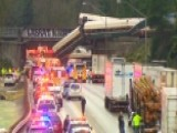 Drivers Told To Avoid I-5 Following Train Derailment