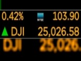 Dow Hits 25,000 For The First Time In History