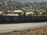 Drone Footage Shows Wall On US-Mexico Border