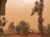 Dust Storm Covers Australia Town In Film Of Orange