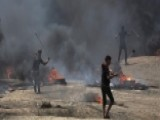 Dozens Dead In Clashes On Gaza Border