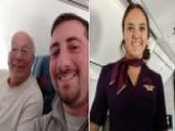 Dad Flies Around The Country On Christmas Day To Spend Holiday With Flight Attendant Daughter