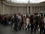 Excitement Building In Vatican City