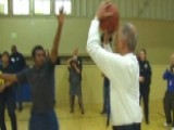 Eric Holder Hoops It Up In San Francisco