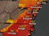 East Coast In The Grip Of The Summer's First Heat Wave