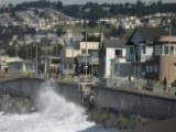 El Nino Storms Threaten Cliff-top Homes Near San Francisco